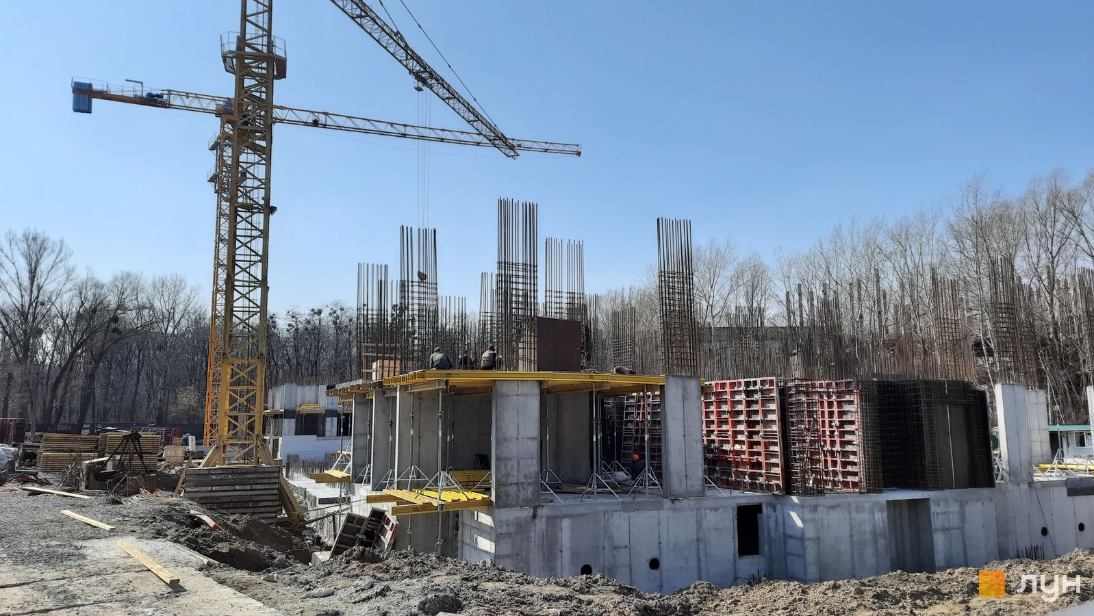 Хід будівництва ЖК Авеню 42, Будинок, березень 2021