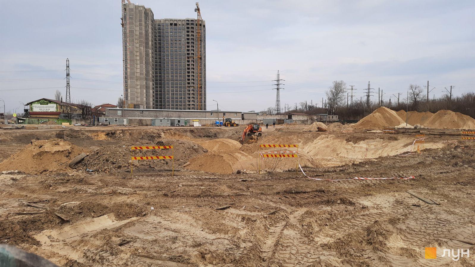 Хід будівництва ЖК BEREG Residence, , березень 2021