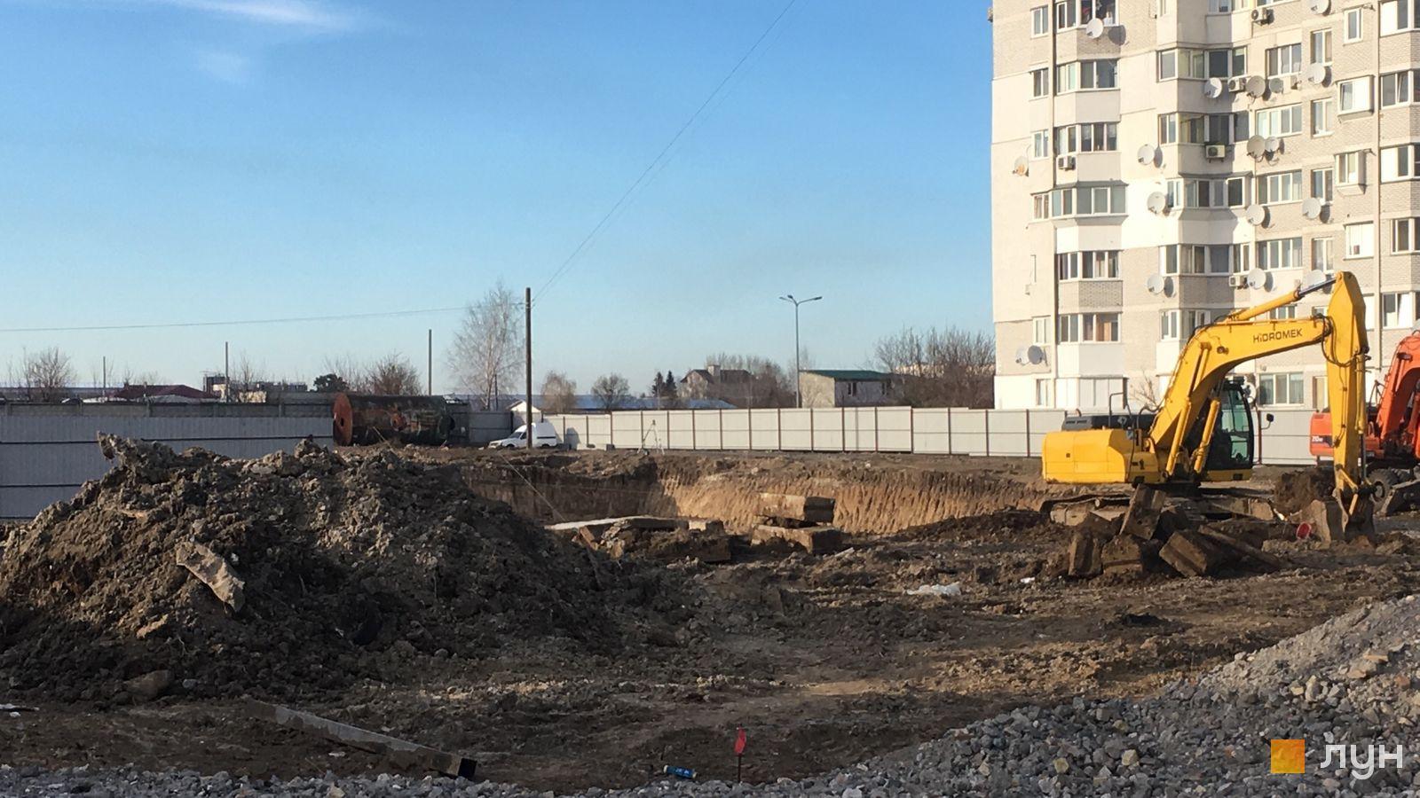 Хід будівництва вул. Теплична, , березень 2021