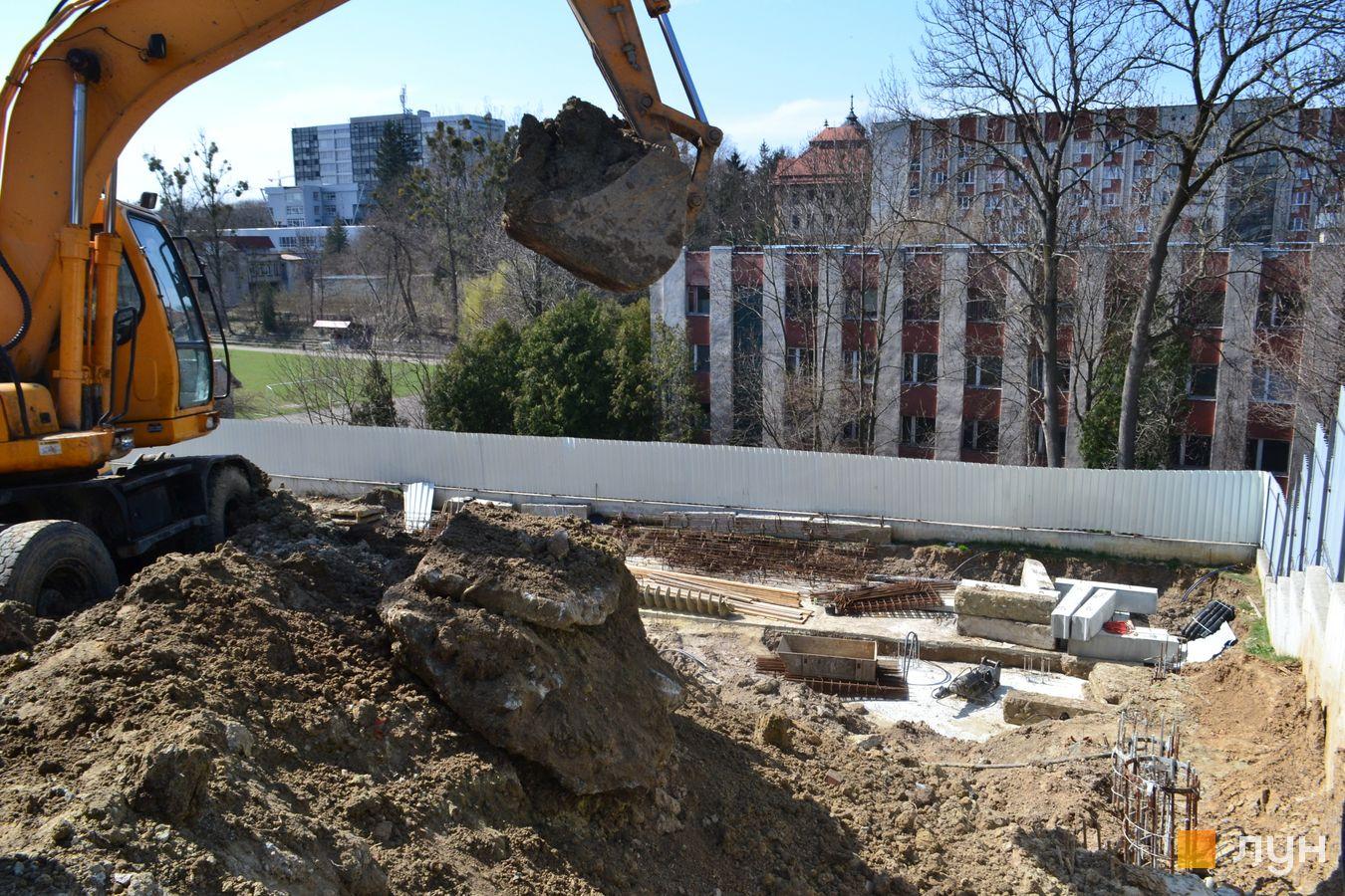 Ход строительства ул. Красная, 17, , апрель 2021