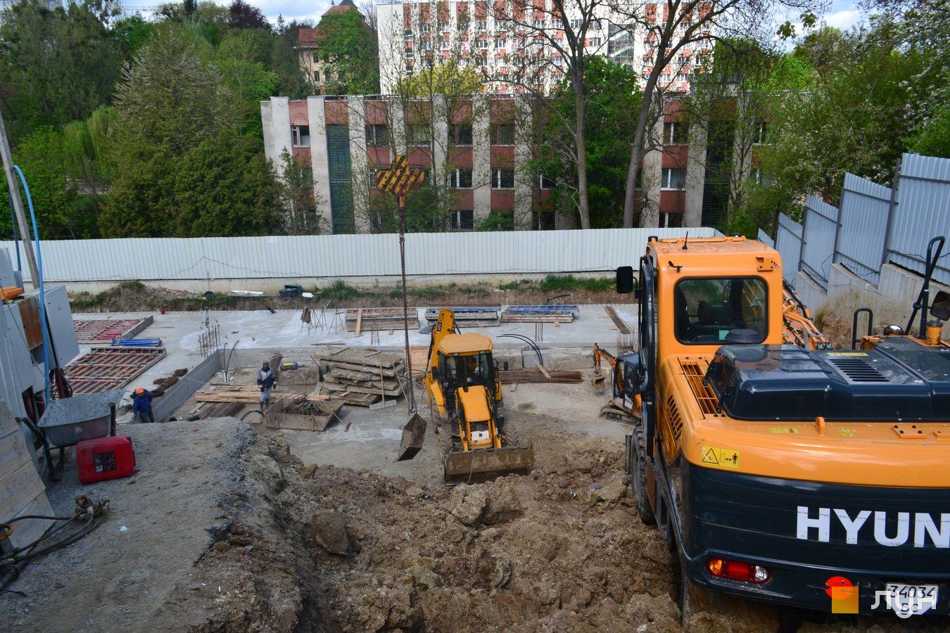 Ход строительства ул. Красная, 17, , май 2021