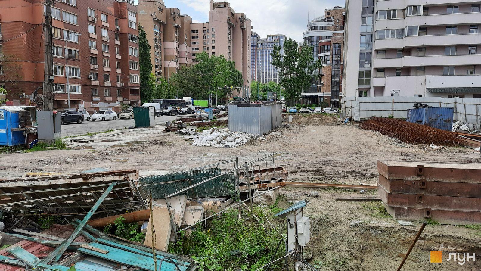 Ход строительства ул. Казимира Малевича, 44, 46, , май 2021