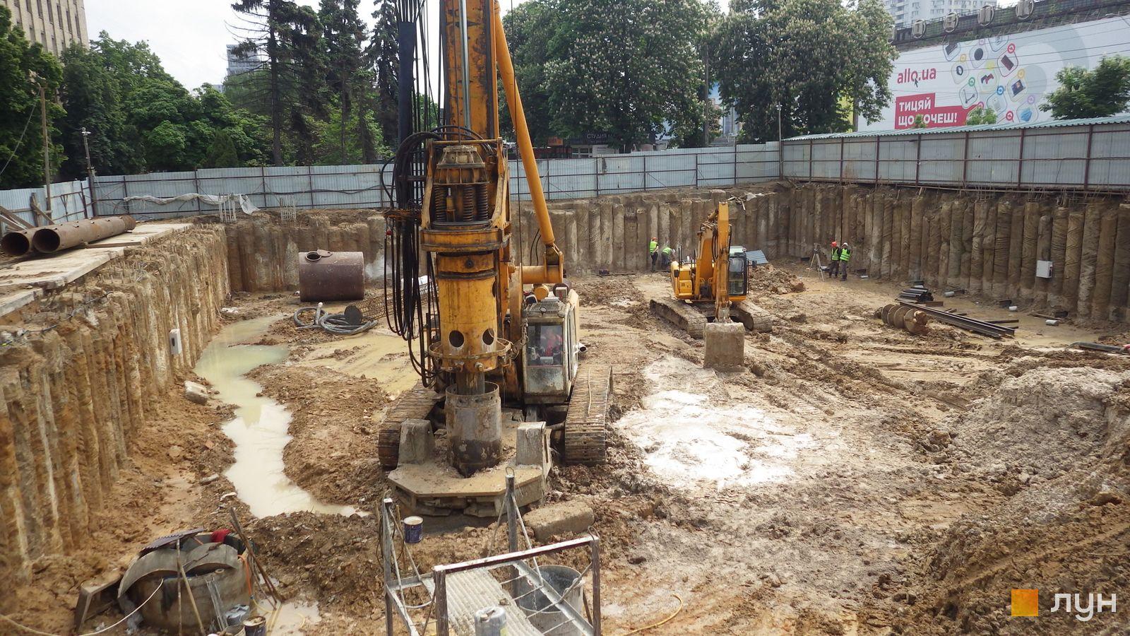 Ход строительства МФК 50Avenue, , май 2021