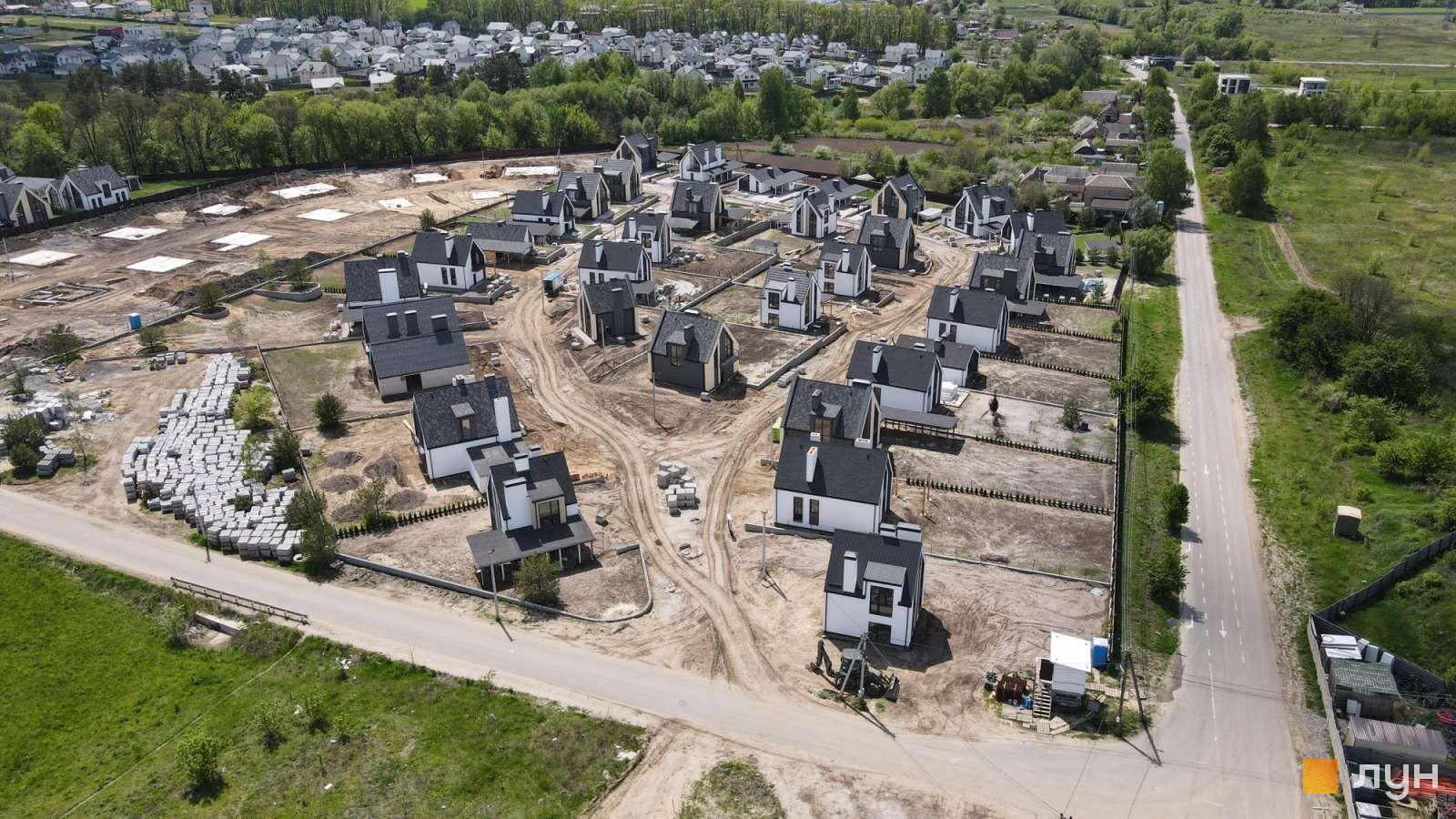 Ход строительства КГ Villaggo, , июнь 2021