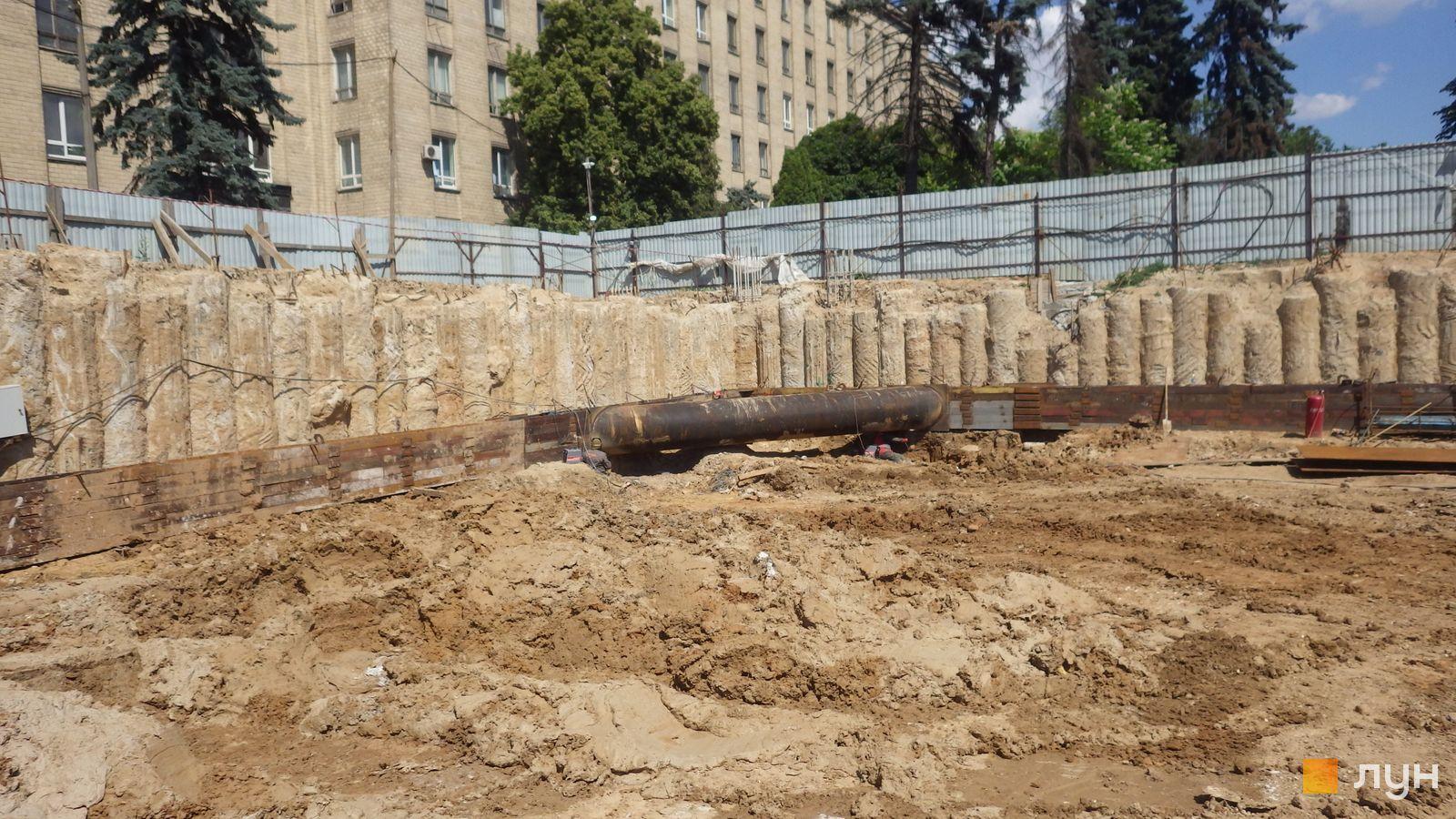 Ход строительства МФК 50Avenue, , июнь 2021