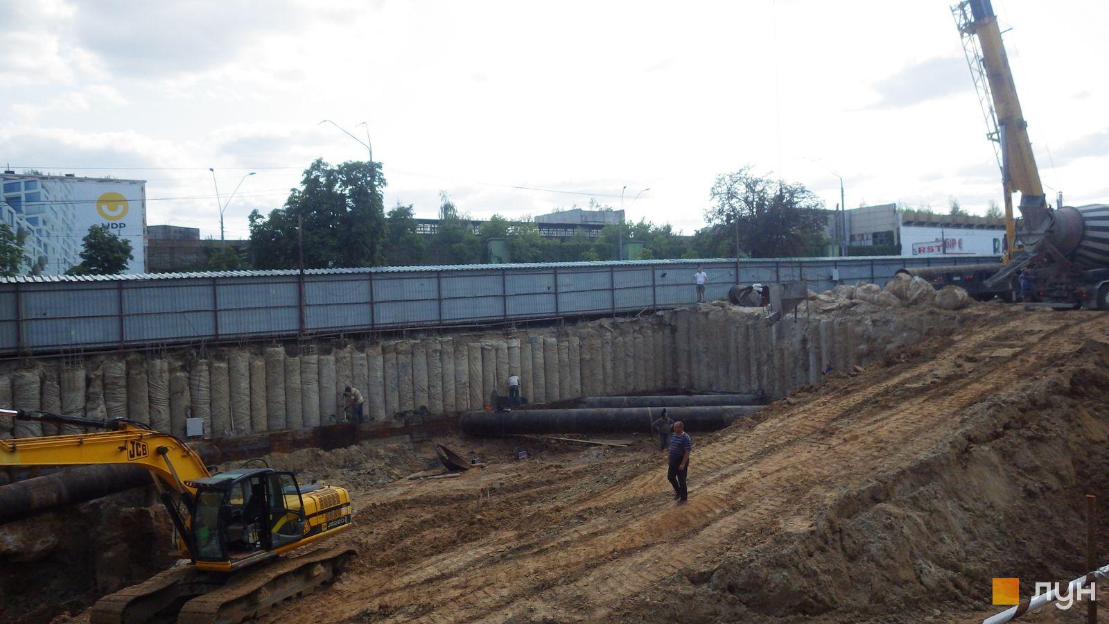 Ход строительства МФК 50Avenue, , июль 2021