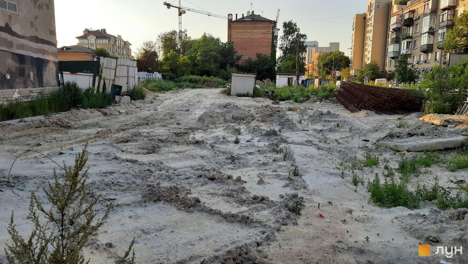 Ход строительства ул. Казимира Малевича, 44, 46, , июль 2021