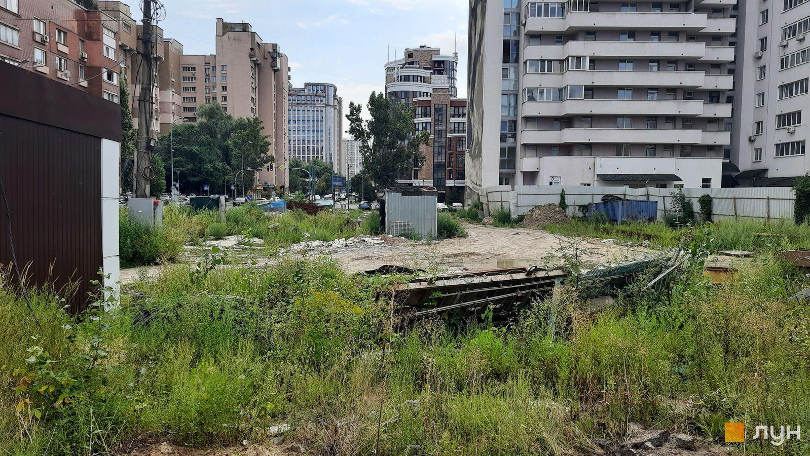 Ход строительства ул. Казимира Малевича, 44, 46, , август 2021