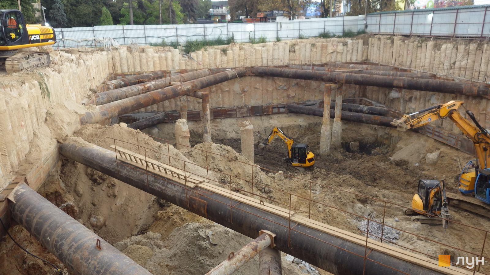 Ход строительства МФК 50Avenue, , август 2021