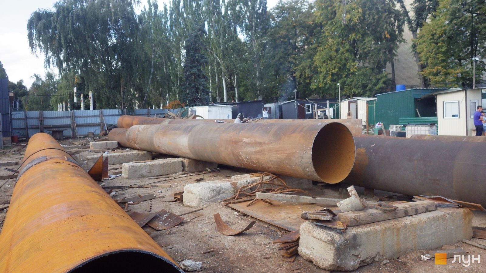 Ход строительства МФК 50Avenue, , сентябрь 2021