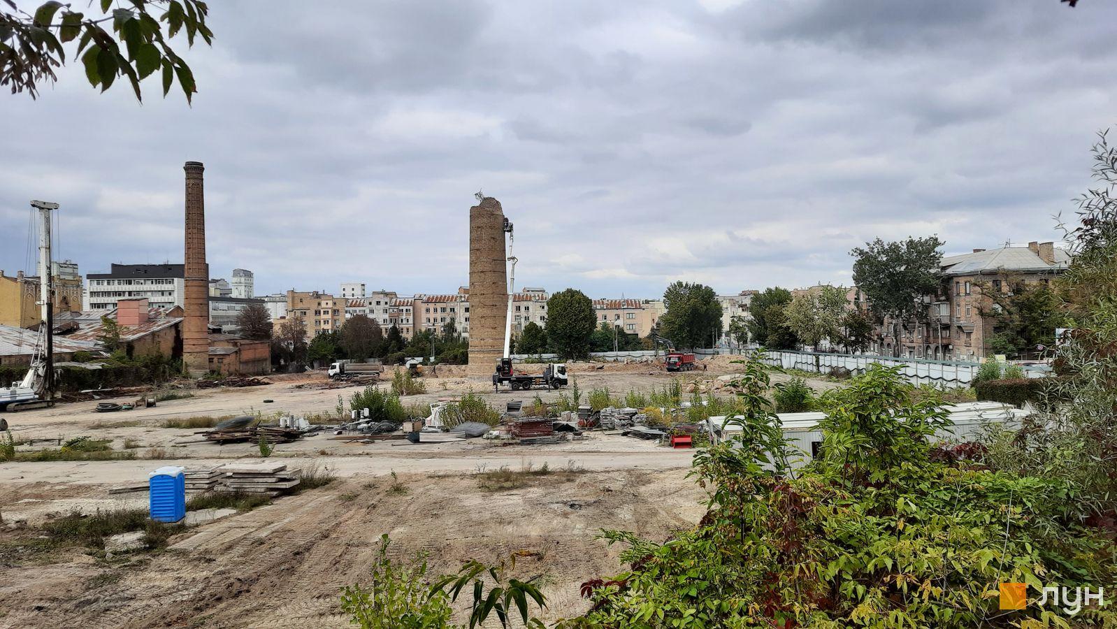 Хід будівництва ЖК Ріхерт & Парк, , вересень 2021