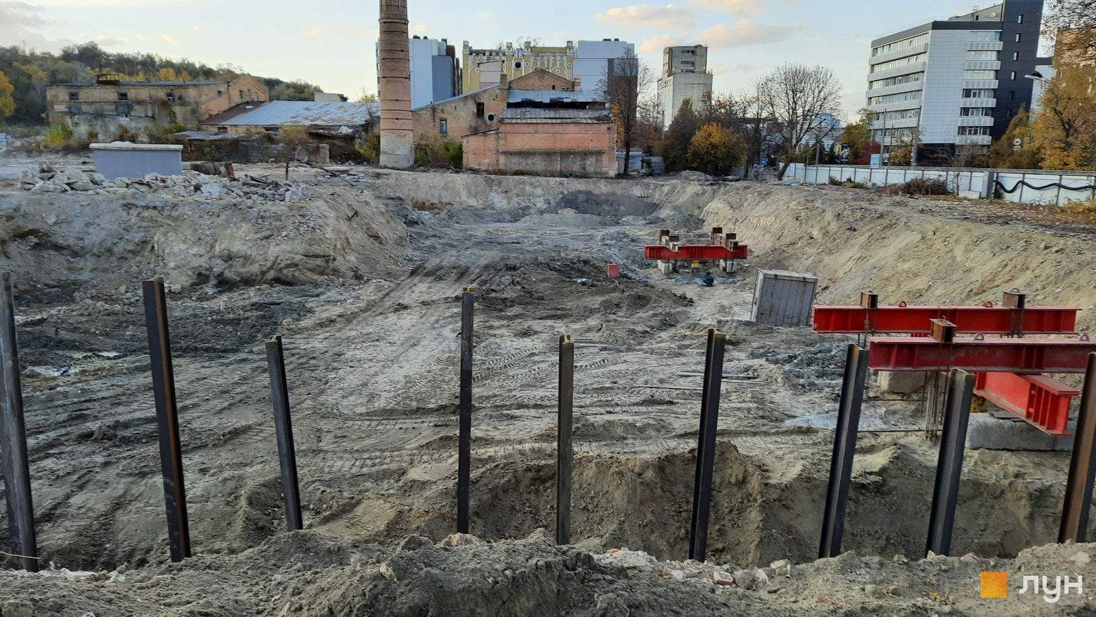 Хід будівництва ЖК Ріхерт & Парк, , жовтень 2021