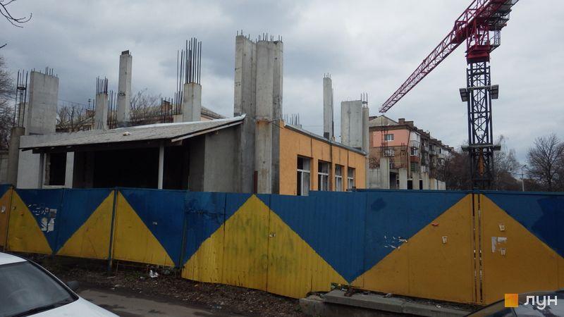 Ход строительства ЖК UNO City House, , март 2017