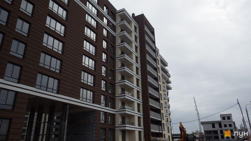 Ход строительства ЖК PARKLAND, 6 дом, март 2017