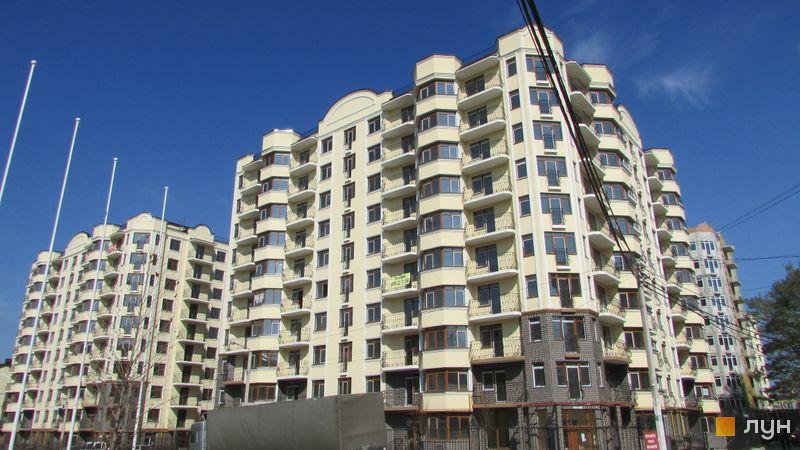 Хід будівництва ЖК Rich Town, 1-3 будинки (вул. Західна, 14, 4, 6), березень 2017