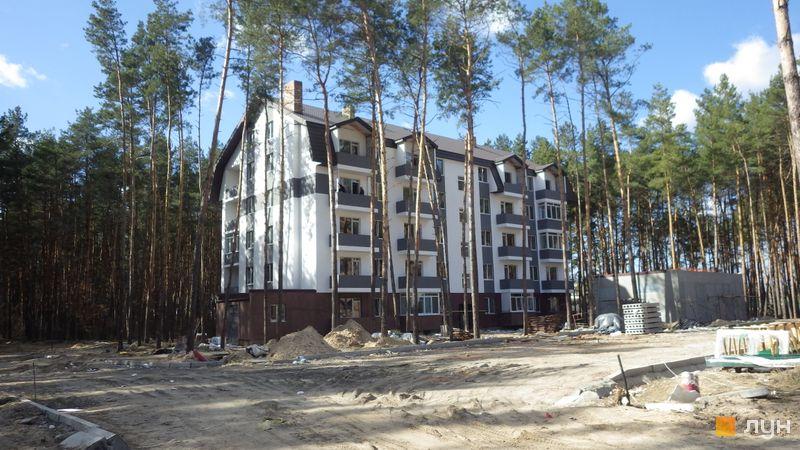 Ход строительства ЖК Идея, 1 дом (ул. Идейная, 13), март 2017
