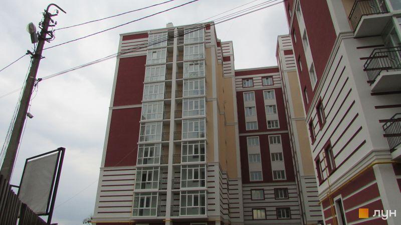 Ход строительства ЖК Покровский, 1 дом (№ 73Е), апрель 2017