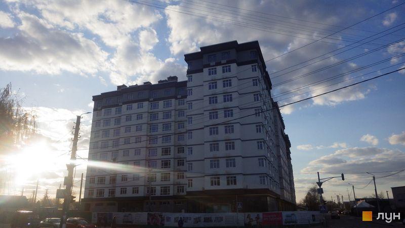 Хід будівництва Жилой дом №1, секції С1, С2, квітень 2017