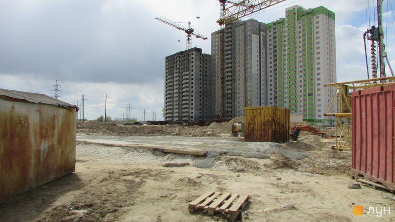 Хід будівництва ЖК Олімпійський, 9 будинок, квітень 2017