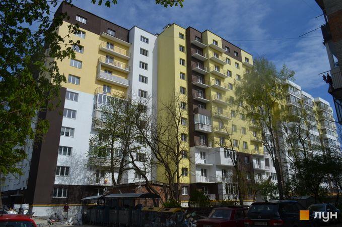 Ход строительства ул. Ульяны Кравченко, 8, Дом 1, апрель 2017