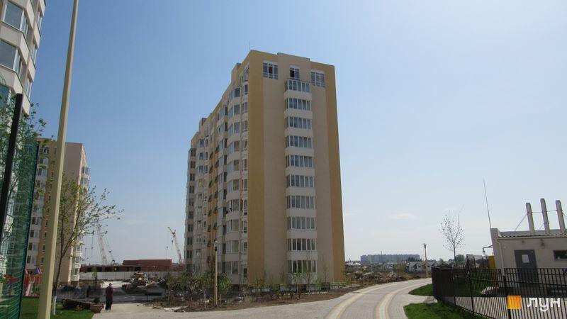 Ход строительства ЖК Петровский квартал, 9 очередь (ул. Леси Украинки, 14в), апрель 2017