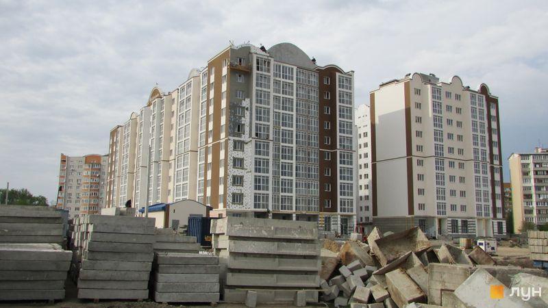 Ход строительства ЖК Millennium State, Дом 1, апрель 2017