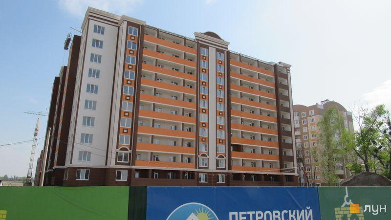 Ход строительства ЖК Петровский квартал, 10 очередь (ул. Соборная, 105), апрель 2017