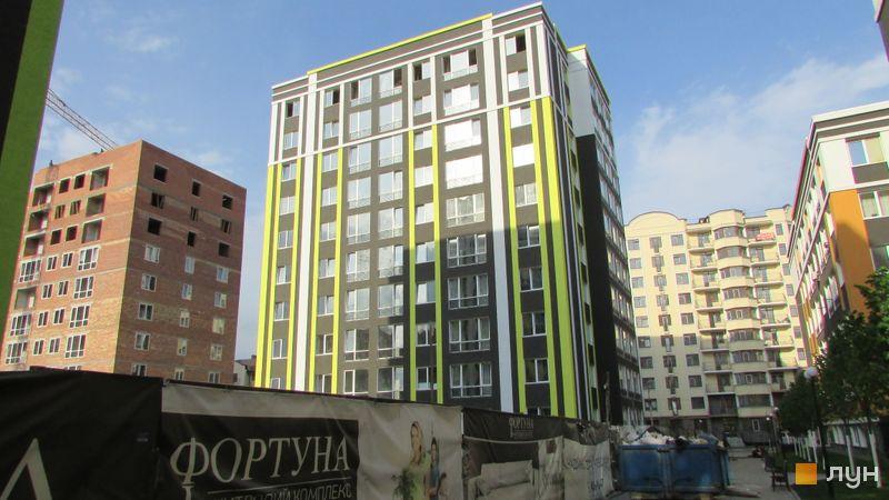 Ход строительства ЖК Фортуна-2, ул. Джерельная, 10, май 2017