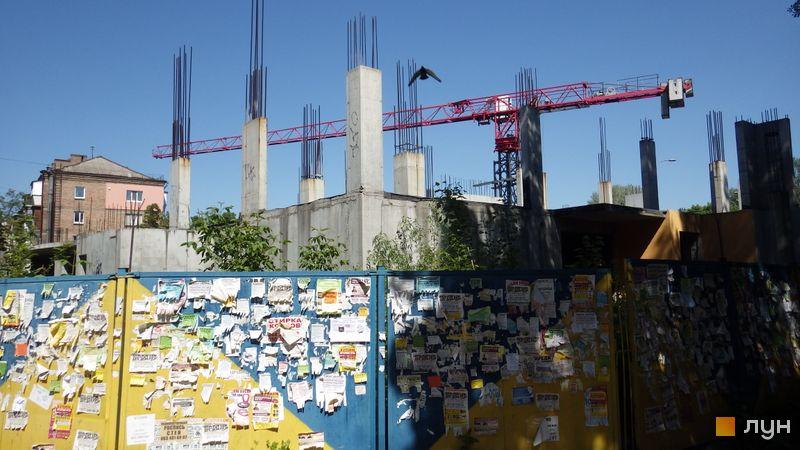 Ход строительства ЖК UNO City House, , май 2017