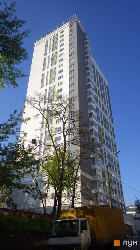 Хід будівництва ЖК Лук'янівський, Будинок, травень 2015
