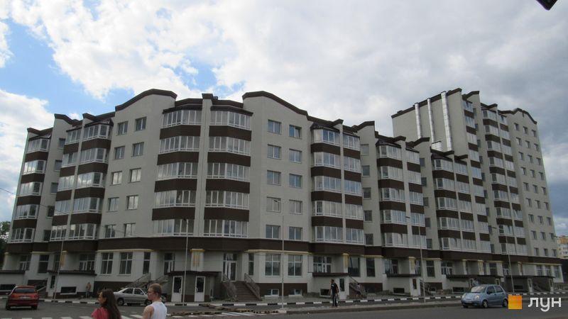 Ход строительства ЖК Подкова, Дом 1, май 2017