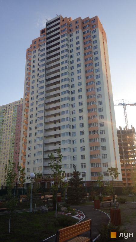 Хід будівництва ЖК Паркові озера, 3 черга (будинок 8), травень 2015