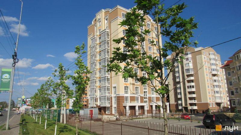 Ход строительства ЖК Петровский квартал, 9 очередь (ул. Леси Украинки, 2б), май 2017