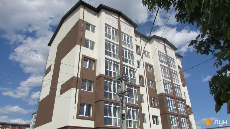 Хід будівництва ЖК Супутник-Теремки, 1 будинок (вул. Інститутська, 45, 47), травень 2017