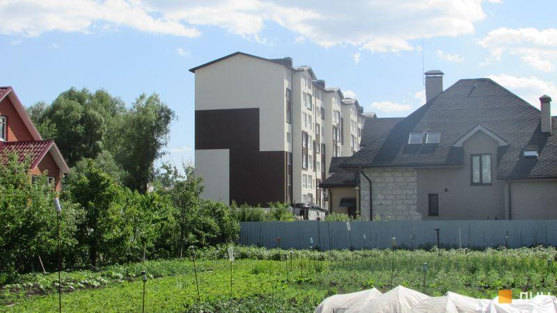 Хід будівництва ЖК Супутник-Теремки, 2 будинок (вул. Кармелюка, ліва секція), травень 2017