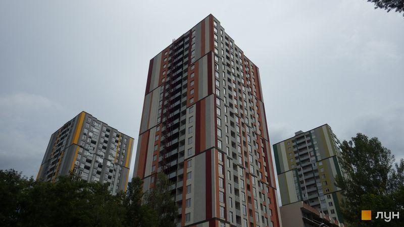 Хід будівництва ЖК Грюнвальд, 6 будинок (вул. Клавдіївська, 40е), червень 2017