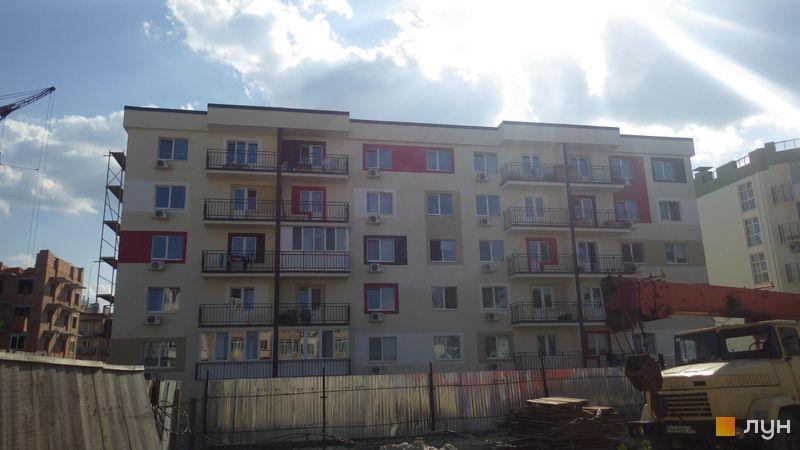 Ход строительства ЖК Власна Квартира, ул. Вильямса, 6г, май 2015