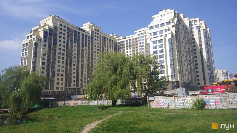 Ход строительства ЖК Венеция, ул. Вильямса, 19/14, май 2015