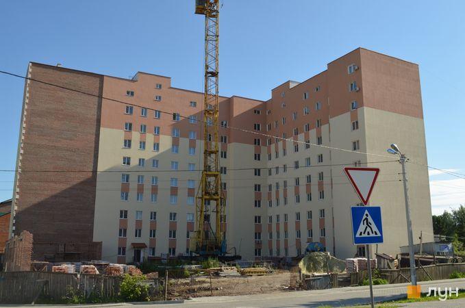Хід будівництва вул. Сухомлинського, 14, секції А-Б, червень 2017