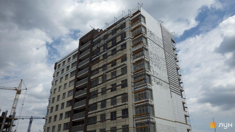 Ход строительства ЖК PARKLAND, 9 дом, июнь 2017