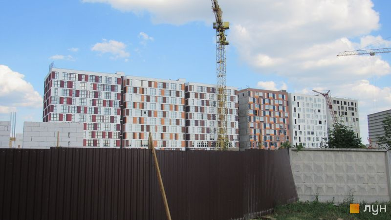 Хід будівництва ЖК iHome, 1-2 будинки, червень 2017