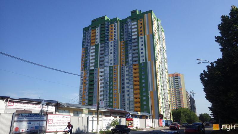Хід будівництва вул. Петра Калнишевського (Майорова), 6, Будинок 1, червень 2017
