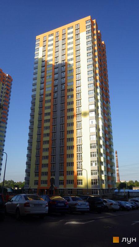 Хід будівництва ЖК Яскравий, 4 будинок (вул. Дегтяренка, 31а), червень 2017