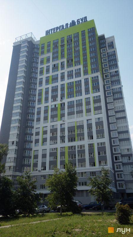 Хід будівництва ЖК Лук'янівський, Будинок, червень 2015