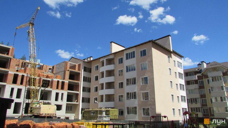 Хід будівництва ЖК Сімейний, Будинок 1, липень 2017