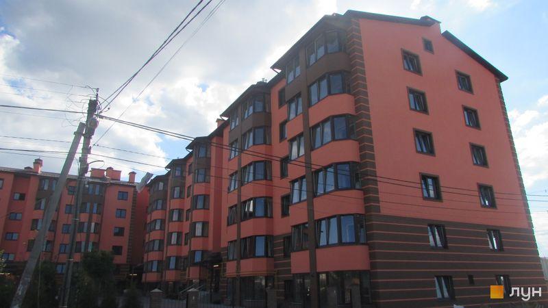 Хід будівництва Волошковий, 8 будинок, липень 2017