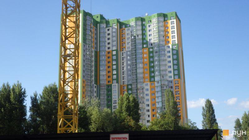 Хід будівництва вул. Петра Калнишевського (Майорова), 6, Будинок 1, липень 2017