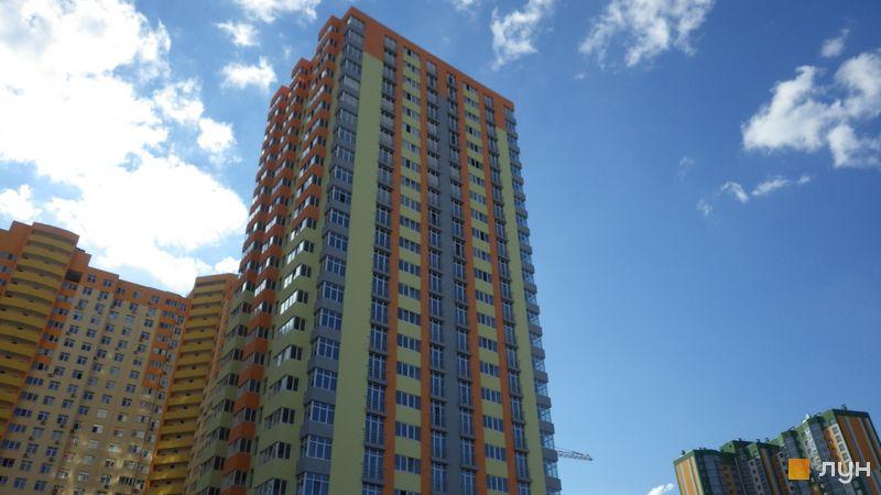 Хід будівництва ЖК Яскравий, 5 будинок (вул. Дегтяренка, 31б), липень 2017
