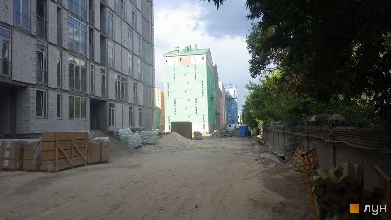 Хід будівництва ЖК Комфорт Таун, 5 черга (будинок 16), липень 2015