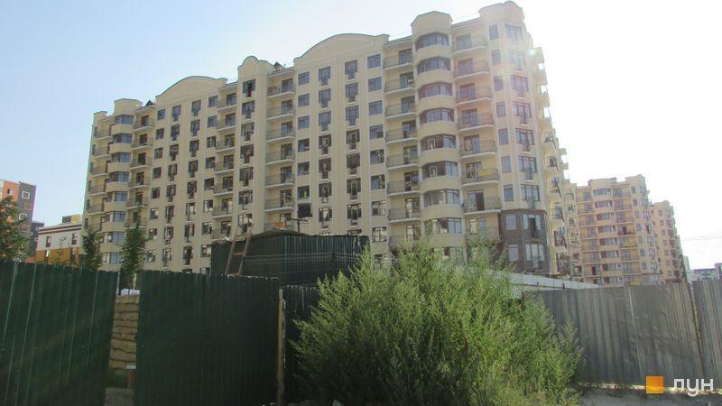 Хід будівництва ЖК Rich Town, 4 будинок (вул. Західна, 8), серпень 2017